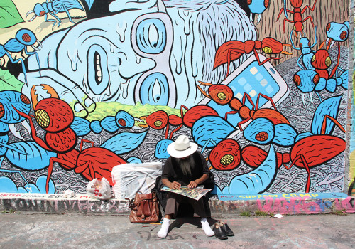 Getting Arty In San Francisco's Mission District Alleys