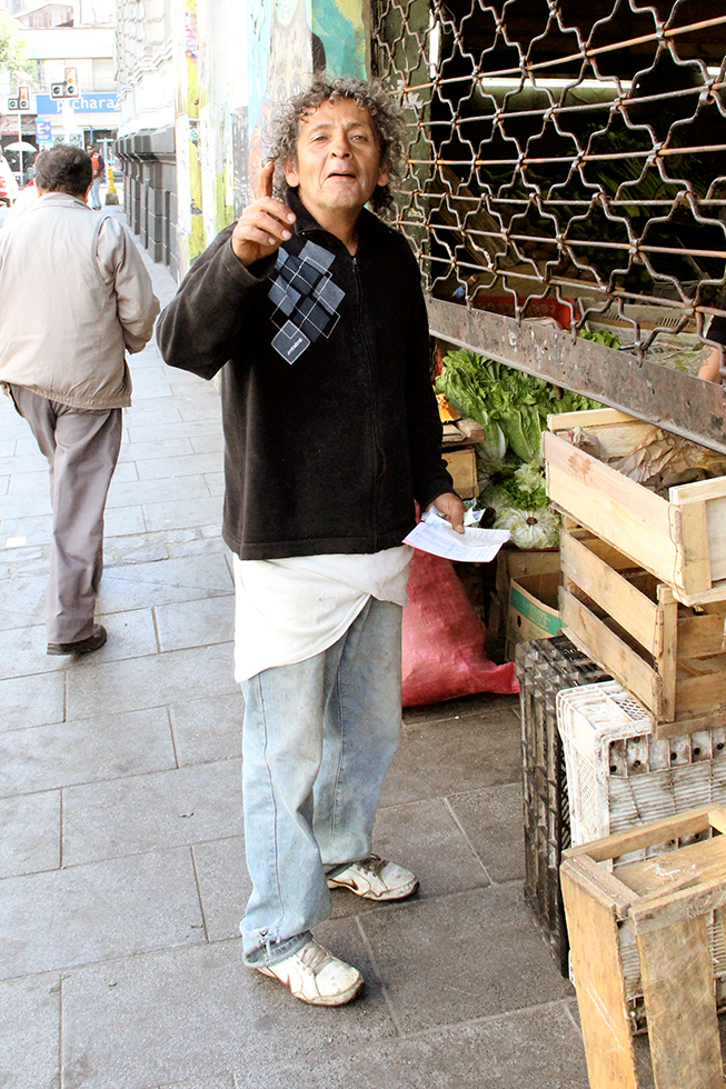 Julio, Produce Vendor | Santiago, Chile