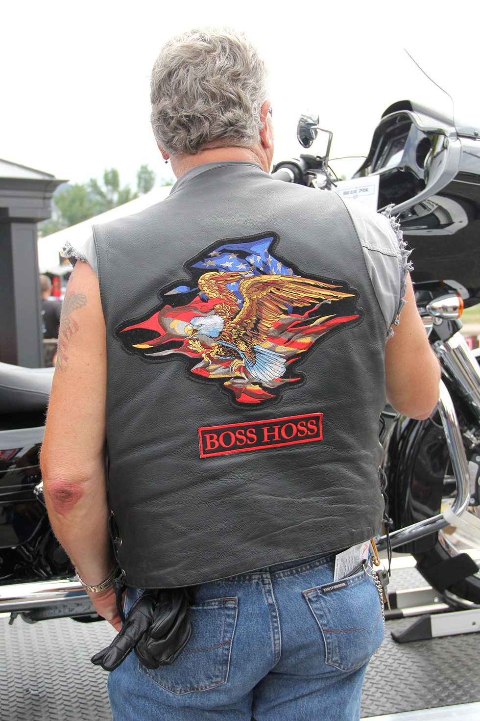 Patches, Tats, Shirts and a Bike Wash | Sturgis, South Dakota