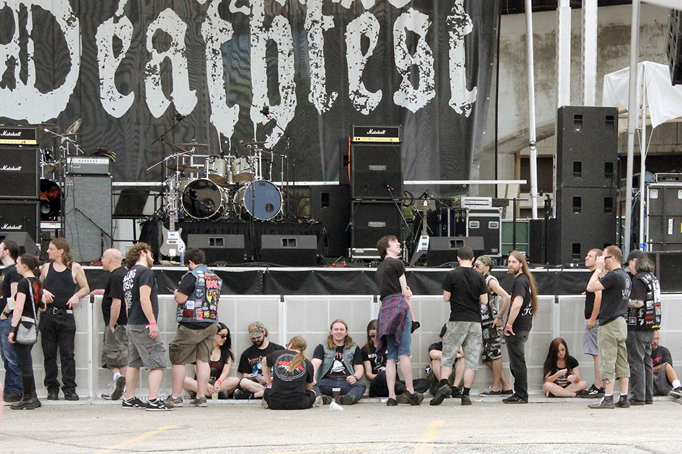 The Deathfest Masses