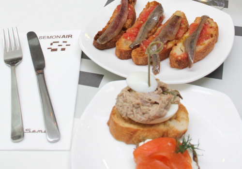Tapas Gourmet At BCN Airport | Barcelona, Spain