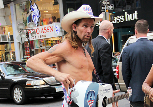 Naked Cowboy | New York, New York