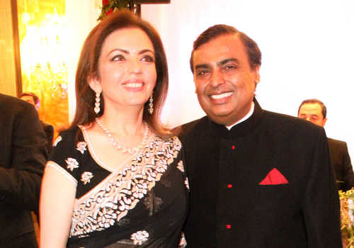 Mukesh & Nita Ambani | Paris, France