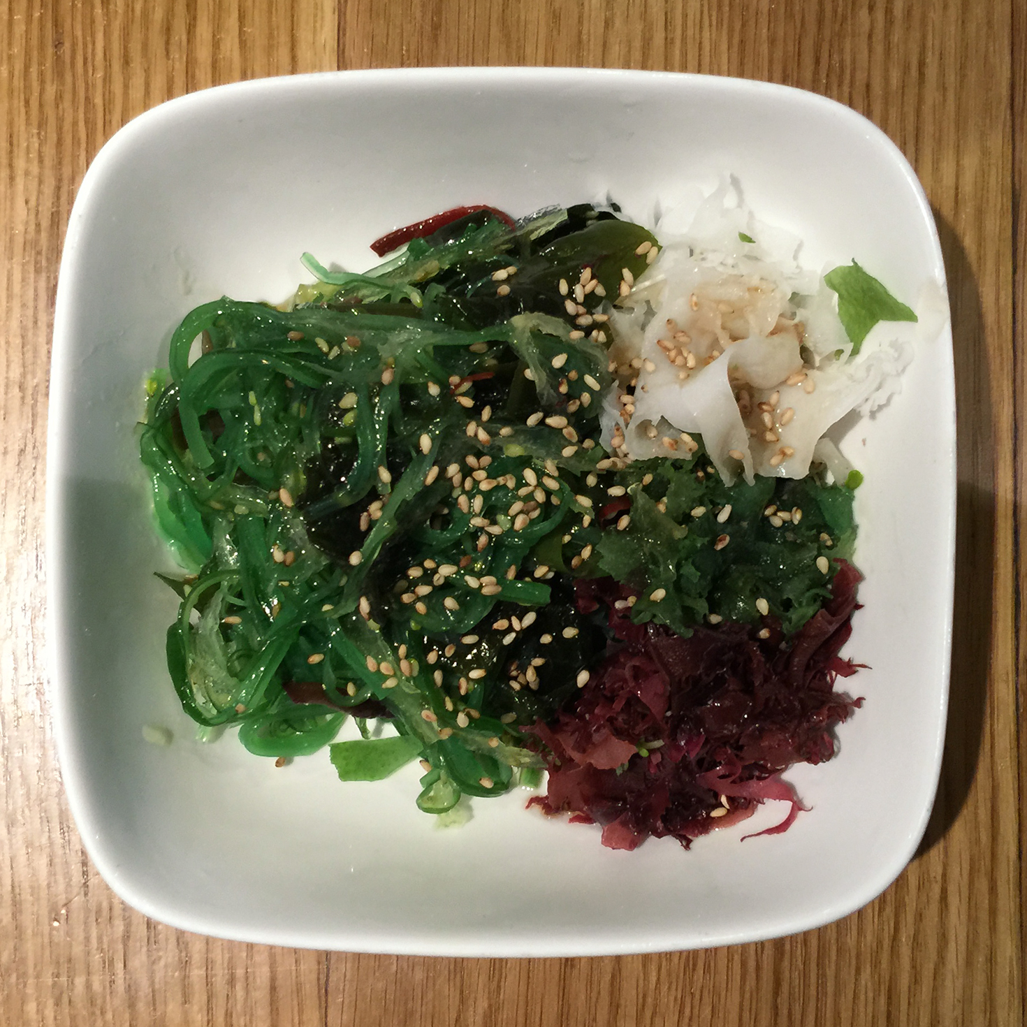 Seaweed salad at Totto Ramen | New York, New York