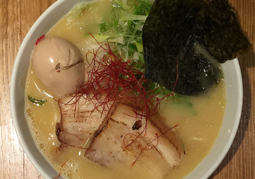 Spicy Paitan Ramen At Totto Ramen | New York, New York