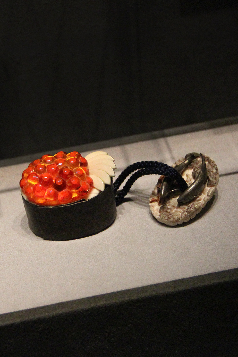 Beginning and End, Amber, ivory and silver, Kiho Takagi, Tokyo National Museum | Tokyo, Japan