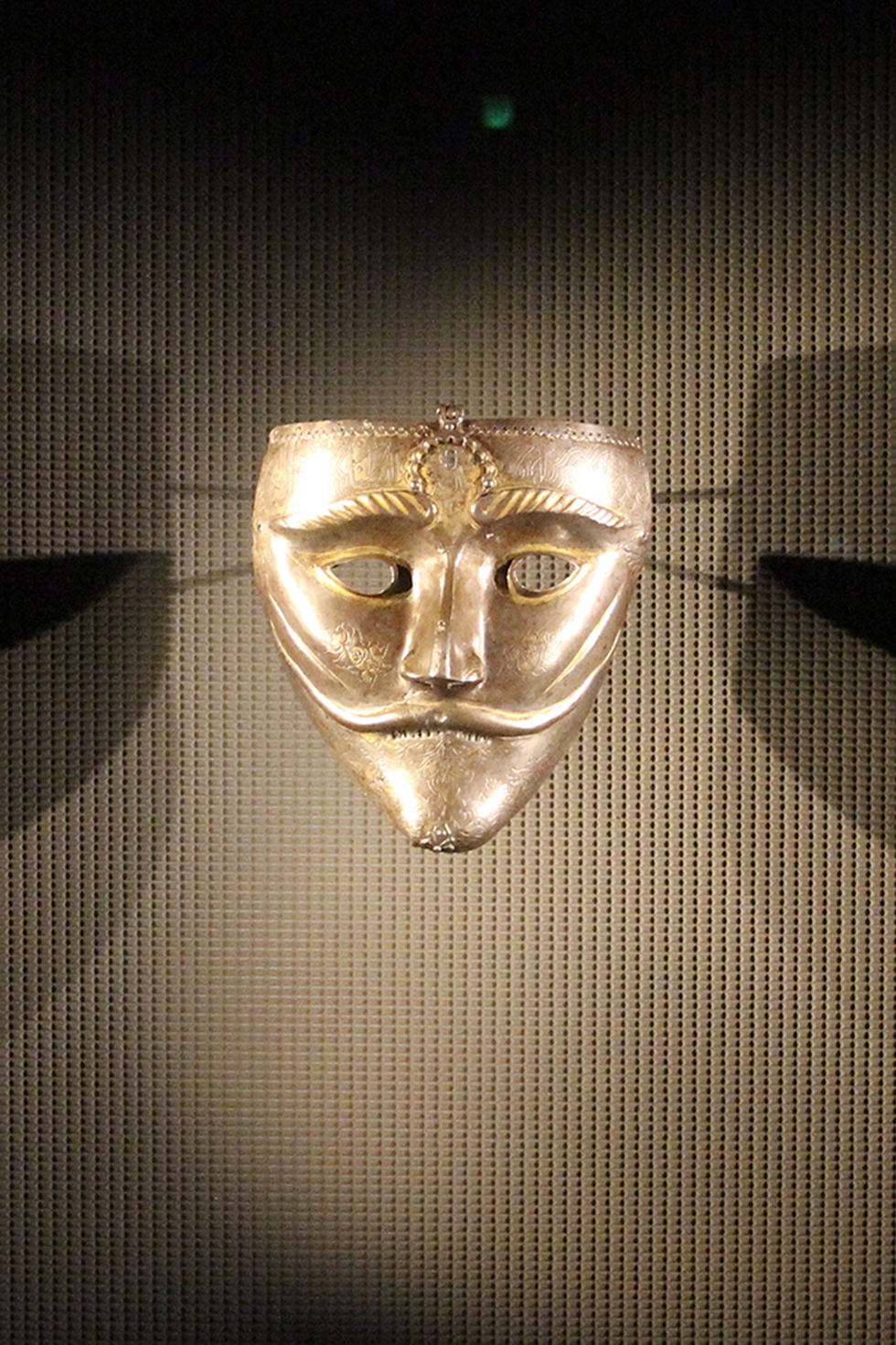 15th Century Turkish or Iranian War Mask, Museum of Islamic Art | Doha, Qatar
