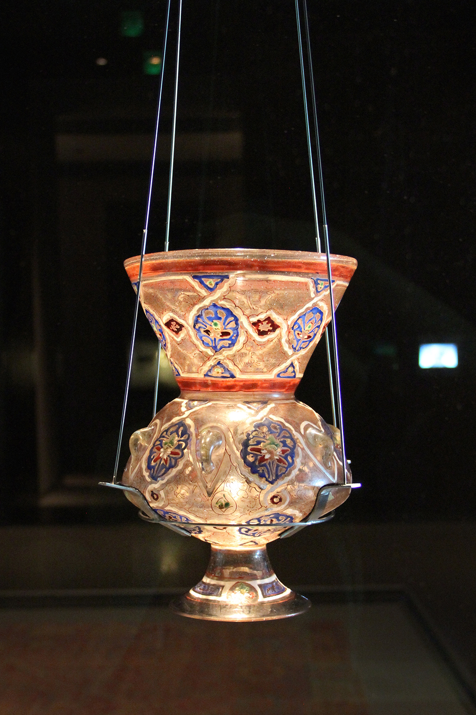 14th Century Mosque Lamp, Museum of Islamic Art | Doha, Qatar