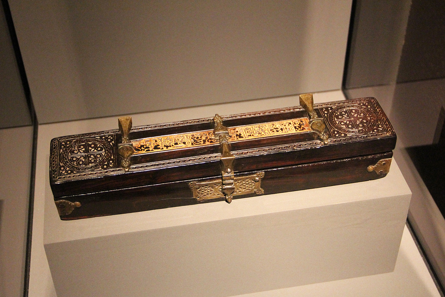 12th Century Egyptian or Sicilian Pen Box, Museum of Islamic Art | Doha, Qatar