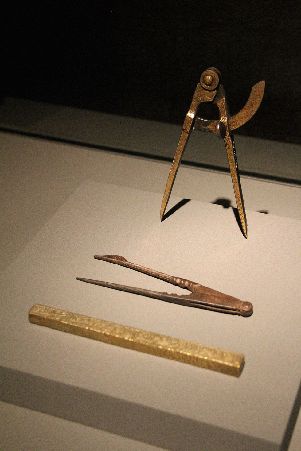 Compasses and Rulers, Museum of Islamic Art | Doha, Qatar