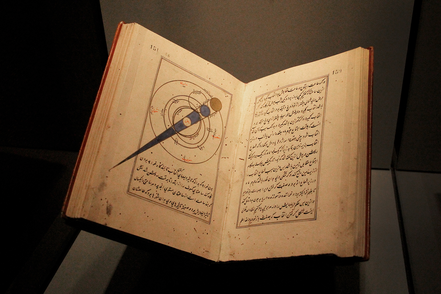 15th Century Turkish Eclipse Illustration, Museum of Islamic Art | Doha, Qatar