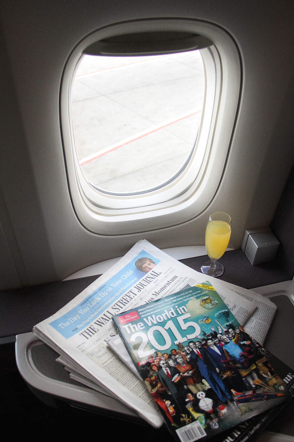 Seat 12K on Cathay Pacific | In the air
