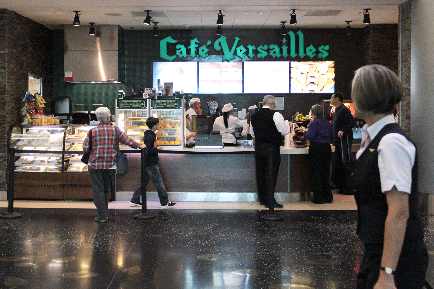 Cafe Versailles at MIA Airport | Miami, Florida