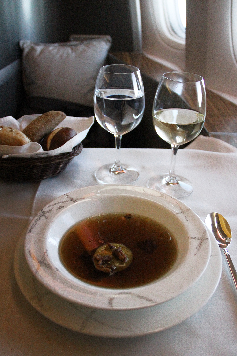 Wild Mushroom Consomme | In the Air