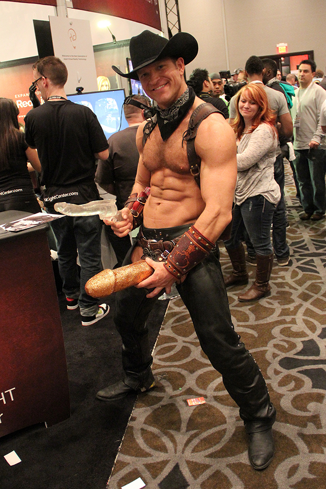 Penis Cowboy at The AVN Show | Las Vegas, Nevada