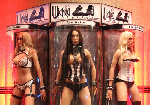 Real Dolls At AVN Show | Las Vegas, Nevada