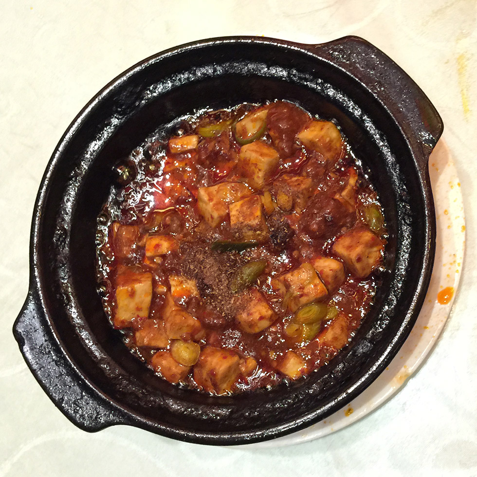 Spicy Tofu at Chenmapo | Chengdu, China