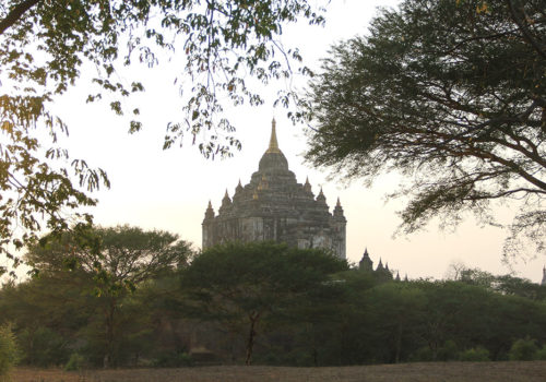 Pagoda On A Hill | Bagan, Myanmar