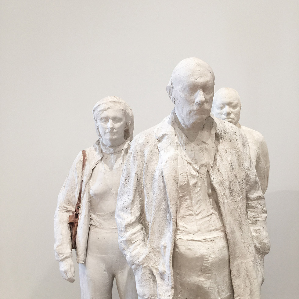 George Segal at the new Whitney | New York, New York