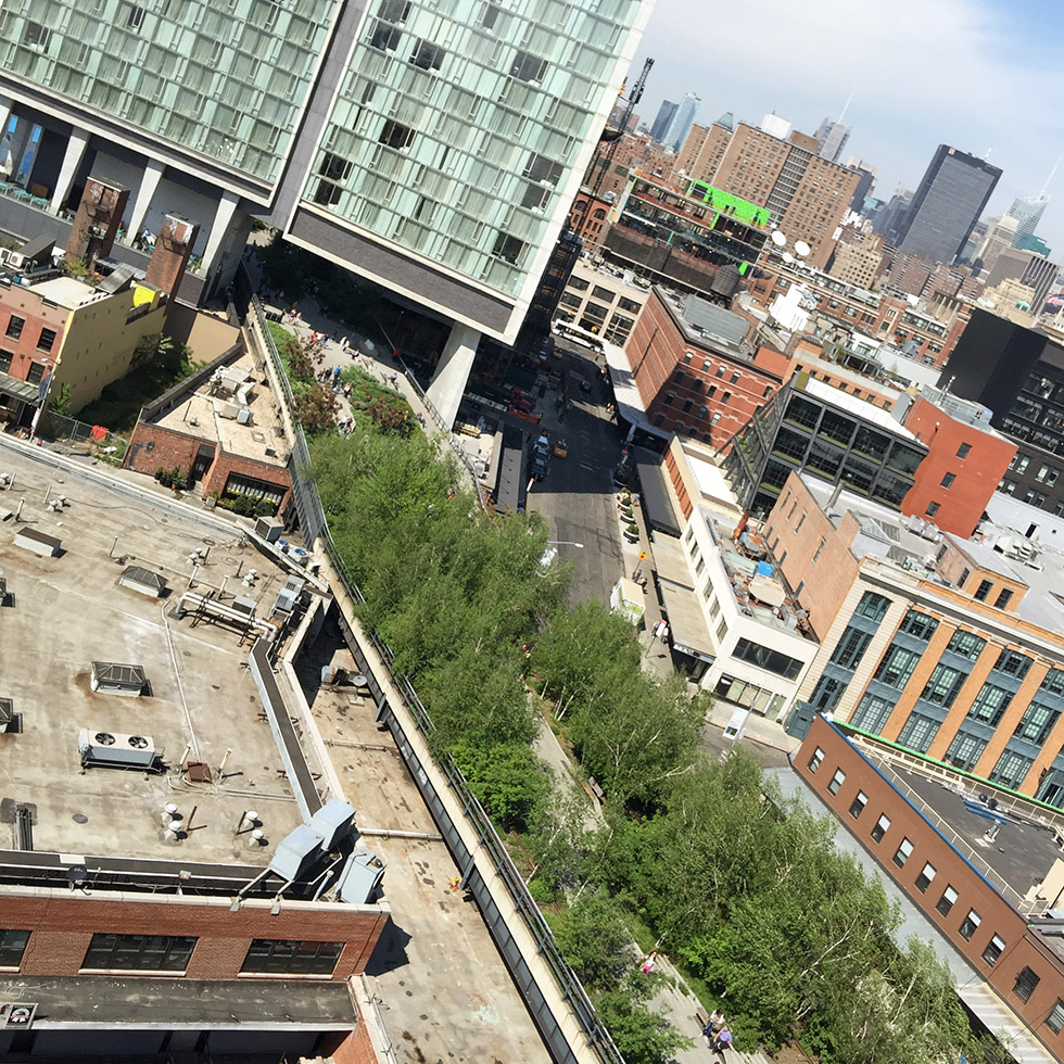 View from the new Whitney | New York, New York