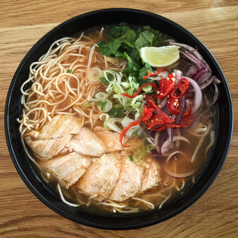 Wagamama in LHR Airport | London, England