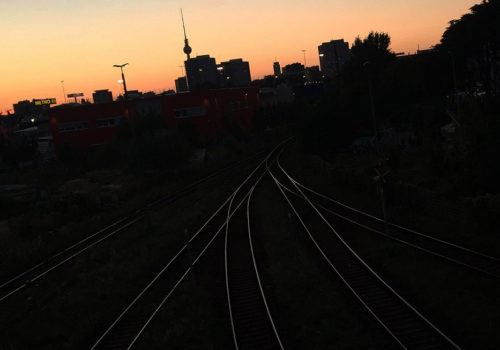 Twilight Train Tracks