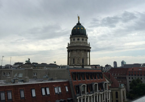 Hotel De Rome: The View From Room 425 | Berlin, Germany