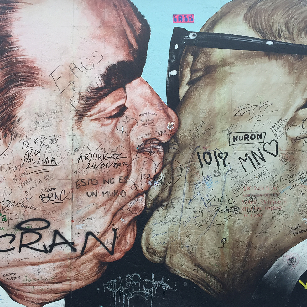 East Side Gallery: Before & After