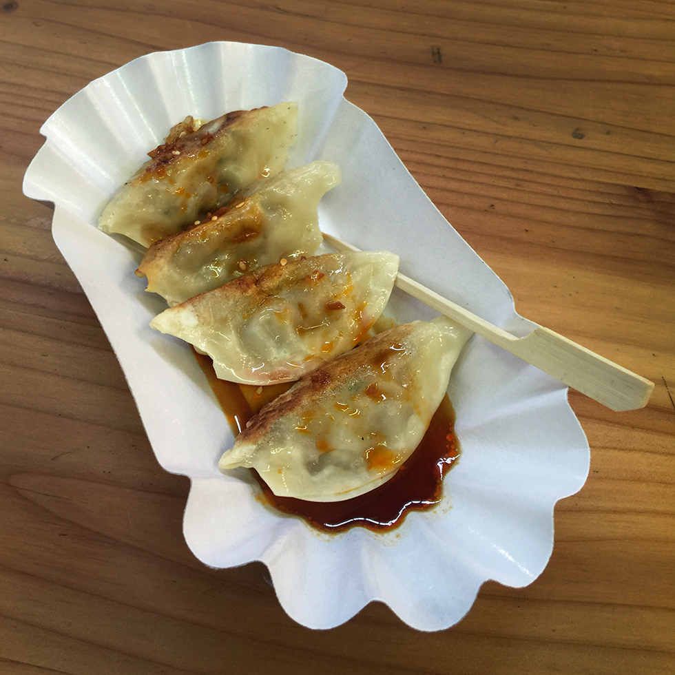 Pot Stickers at Markthalle Neun | Berlin, Germany
