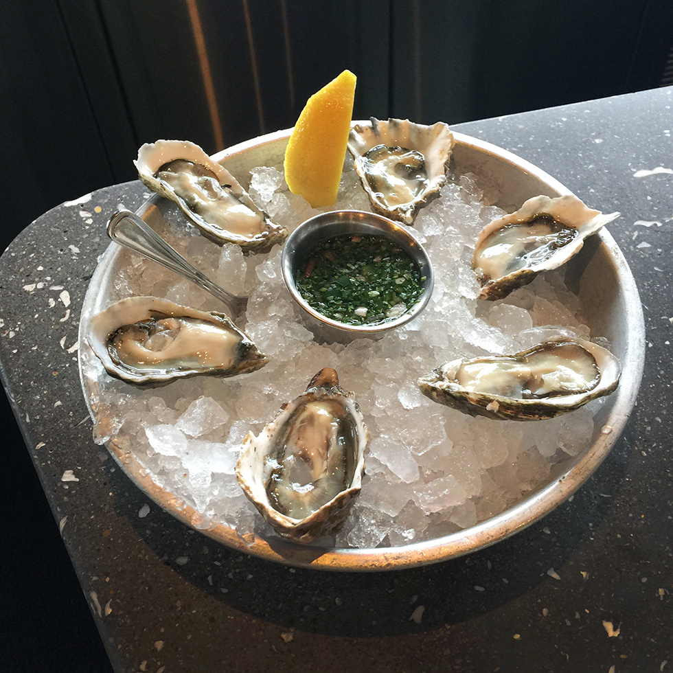Kumamoto oysters at Hog Island Oyster Co. | San Francisco, California