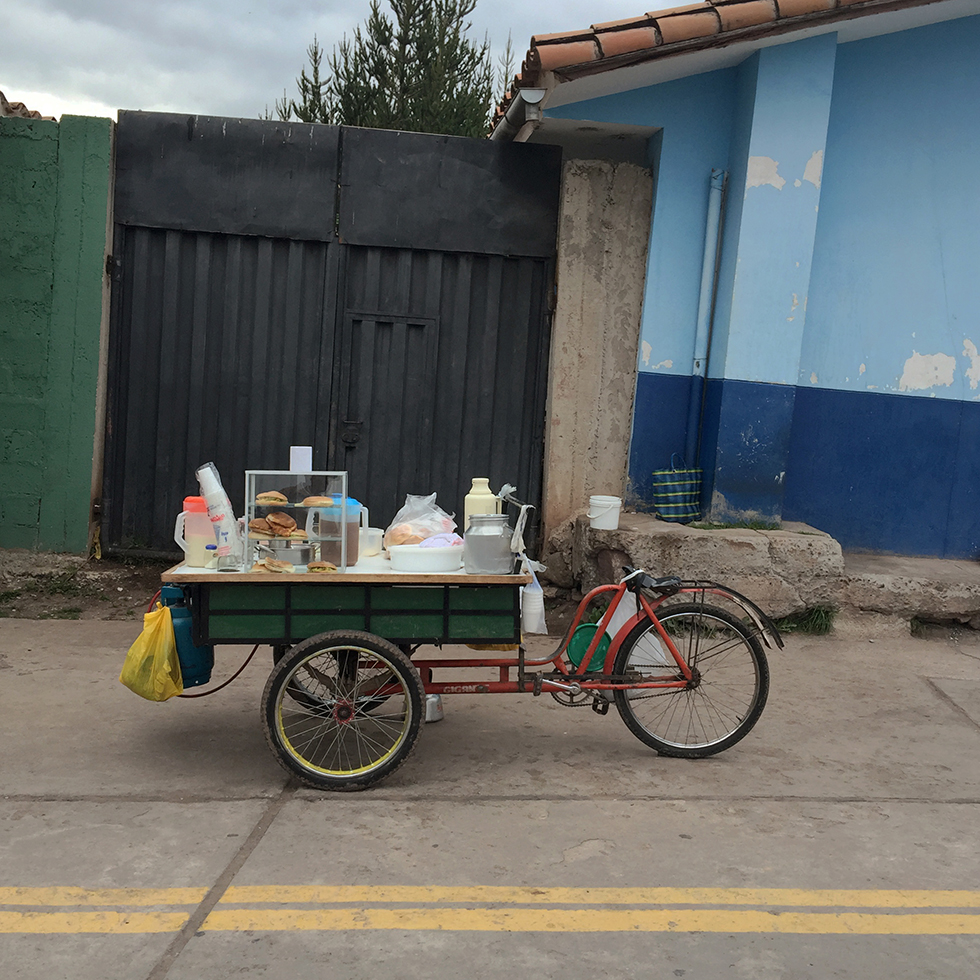 My street vendor's cart | Aguas Calientes, Peru