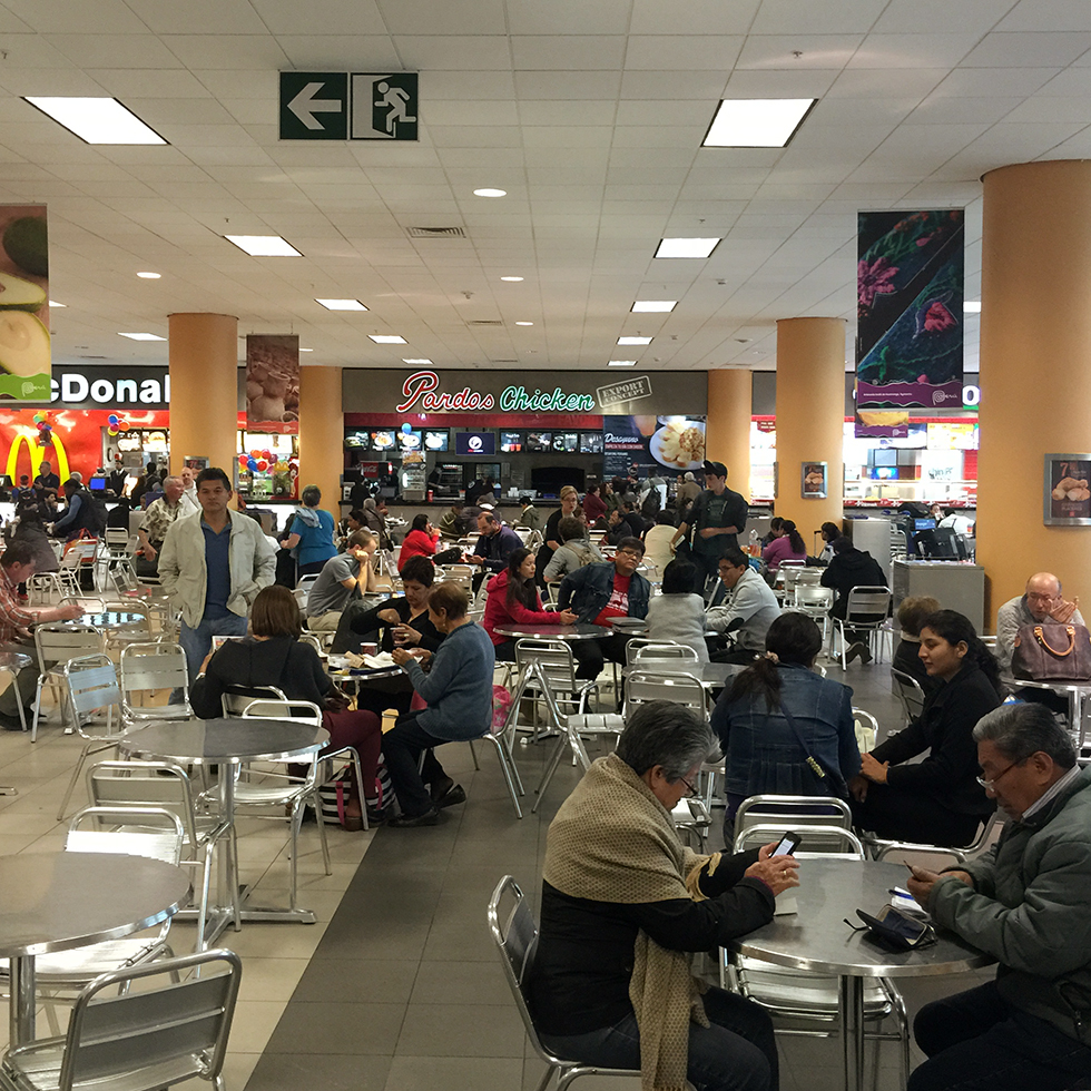 Pardos Chicken at Lima Airport | Lima, Peru