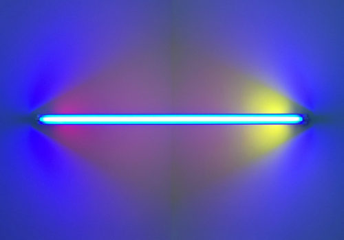 Dan Flavin At David Zwirner