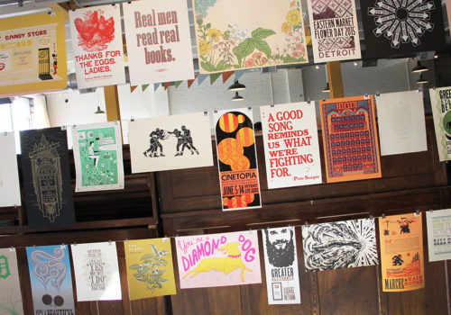 Letterpress At Signal-Return Studio | Detroit, Michigan