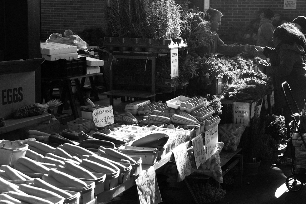 Produce stand at Detroit's Eastern Market | Detroit, Michigan