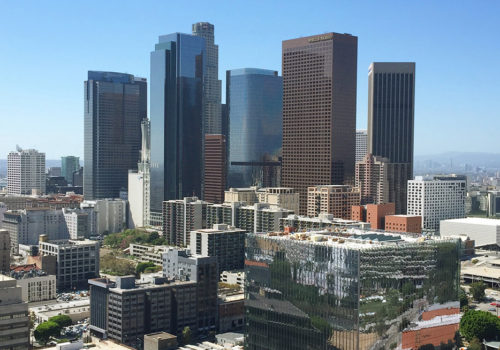 View From Los Angeles City Hall Observation Deck | Los Angeles, California