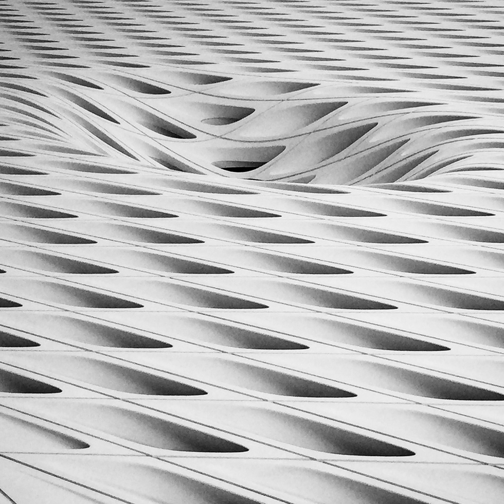 Exterior of Broad Museum | Los Angeles, California