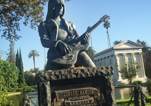 Johnny Ramone, Hollywood Forever Cemetery | Los Angeles, California