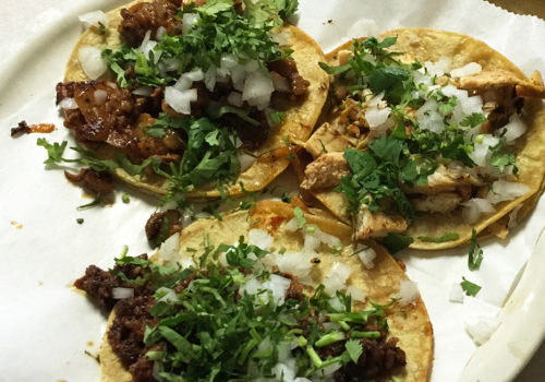 Tacos At Taqueria El Rey | Detroit, Michigan