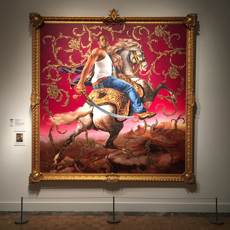 Kehinde Wiley at Detroit Institute of Arts | Detroit, Michigan