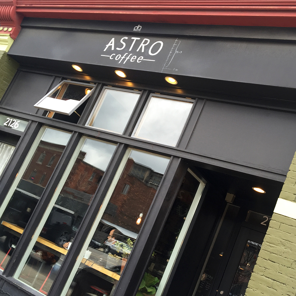 Astro Coffee | Detroit, Michigan