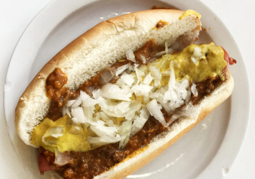 Coney Island Dog At American Coney Island | Detroit, Michigan