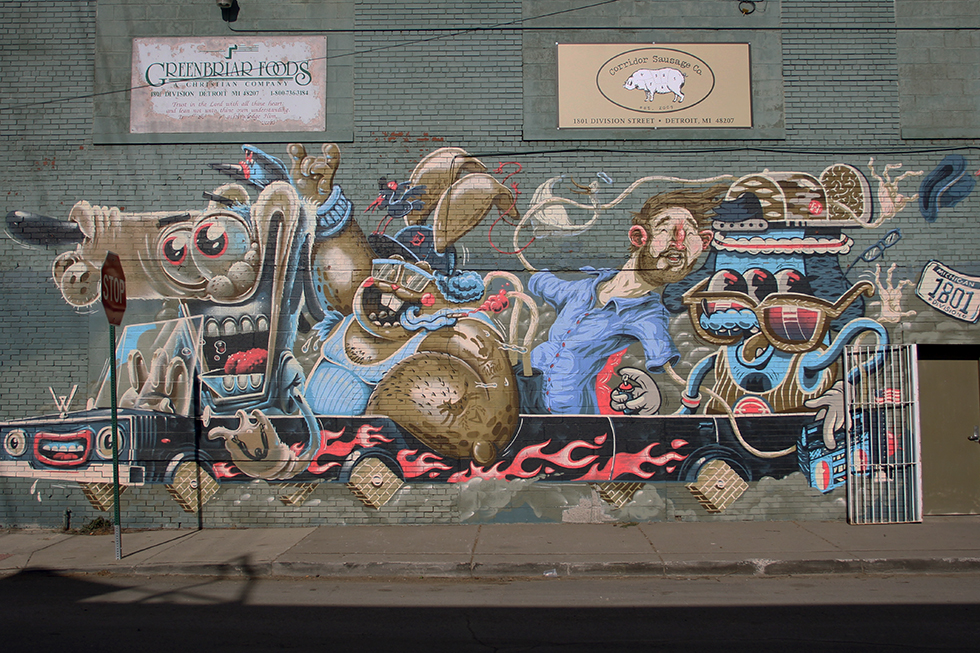 Murals of Detroit | Detroit, Michigan