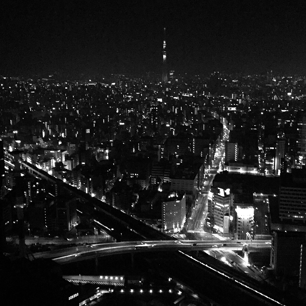 The view from room 417   Tokyo, Japan