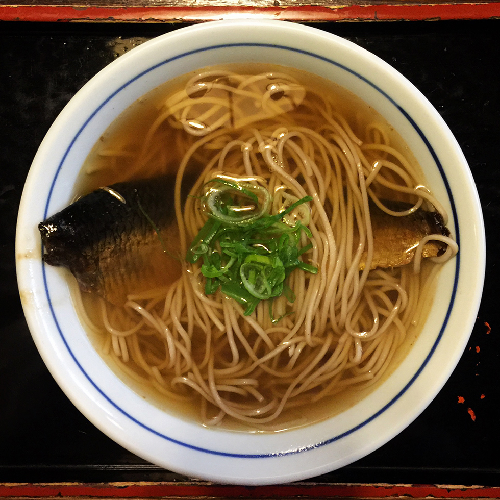 Nishin soba at Honke Owariya | Kyoto, Japan