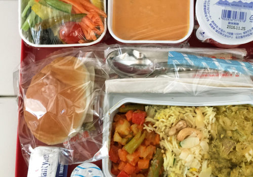 Inflight Meal On Air India 315