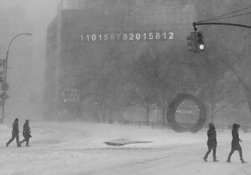 Snow Storm In NYC | New York, New York