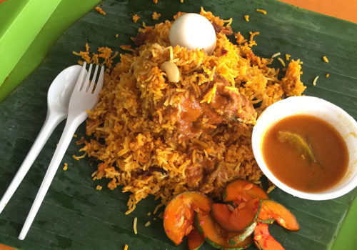 Chicken Dum Biryani At Yakader | Singapore