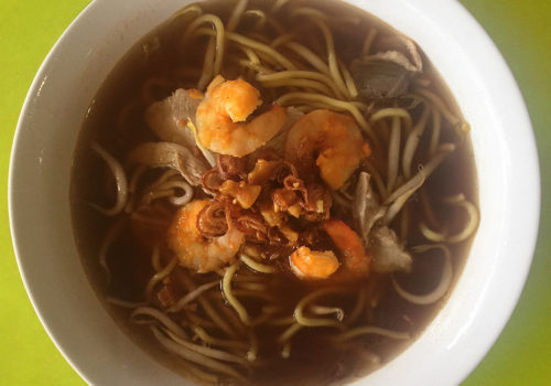 545 Whampoa Prawn Noodles At Tekka Centre | Singapore