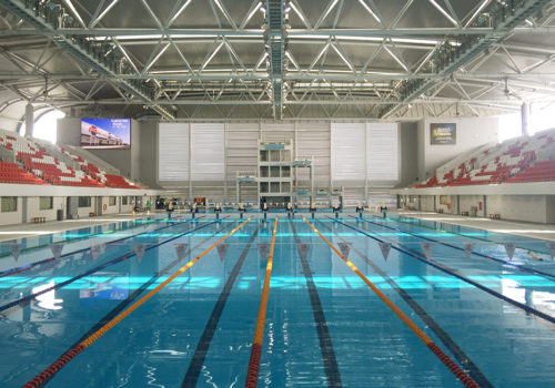 Olympic Pool At Sports Center Hub